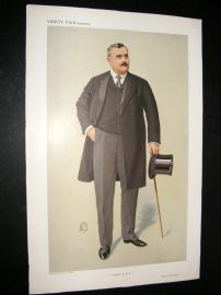 Vanity Fair Print 1910 James Richard Hennessy, Horse Trainer